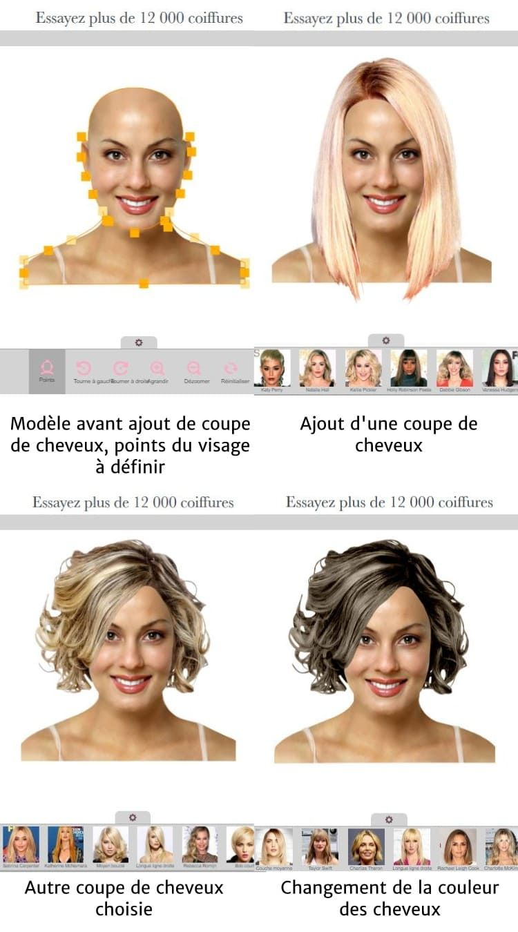 33++ Application test coiffure idees en 2021
