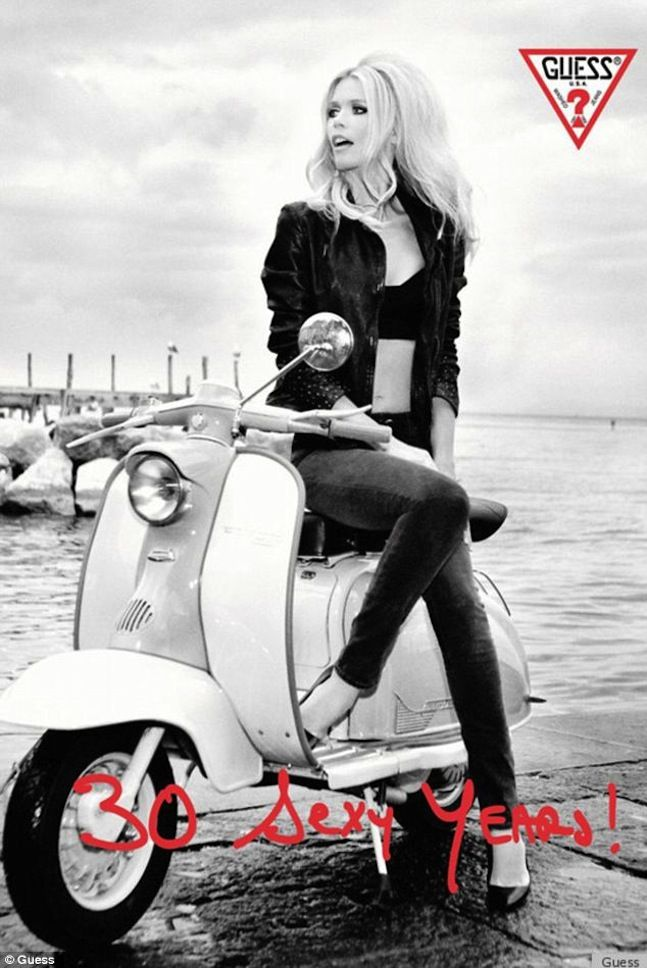 Claudia Schiffer | Guess Ad Campaign 2012 | 30 Sexy Years | Style | Fashion | Glamour