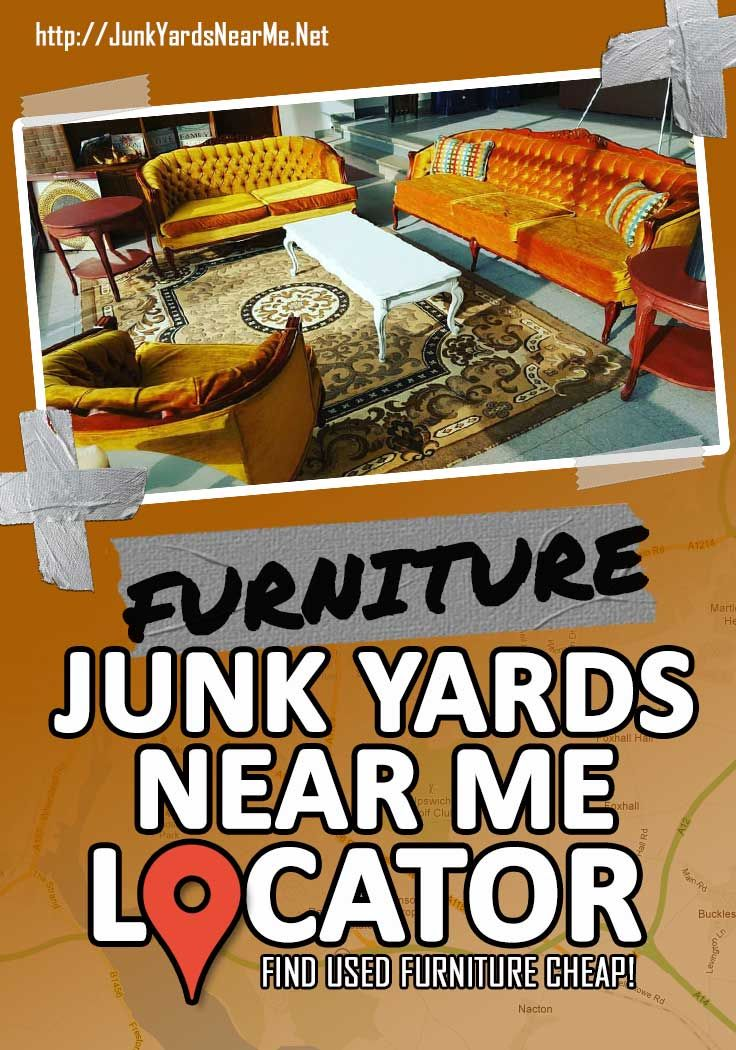 Furniture Salvage Yards Near Me [Find All Local Listings