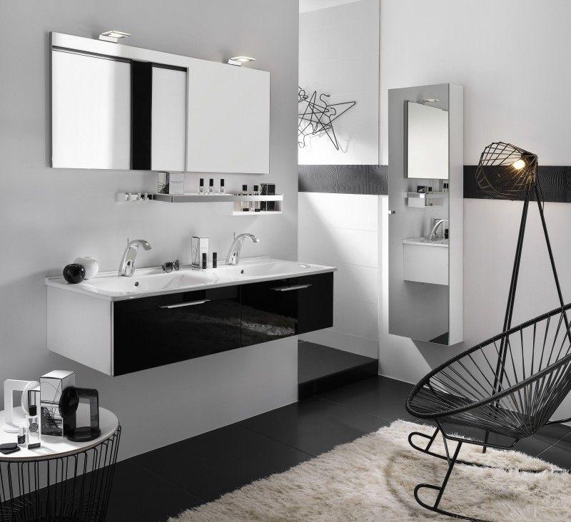 Best Meuble Salle De Bain Noir Et Blanc Gallery Amazing House