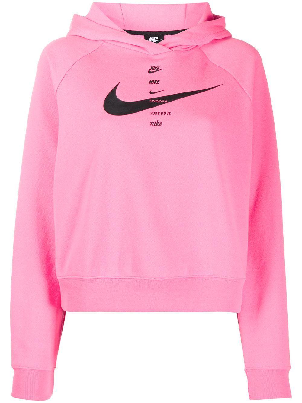Nike Swoosh Sportswear Hoodie Farfetch Hoodies Sportswear Nike [ 1334 x 1000 Pixel ]