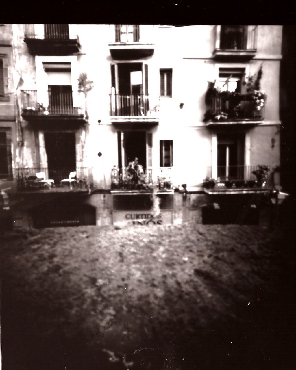 pinhole photography by zitoillustrator