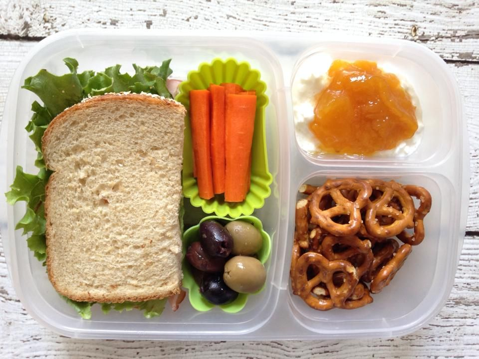 Summer camp lunch packed in @EasyLunchboxes   Lunch snacks ...