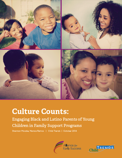 Culture Counts: Engaging Black and Latino Parents of Young Children in Family Support Programs (Report) | Child Trends
