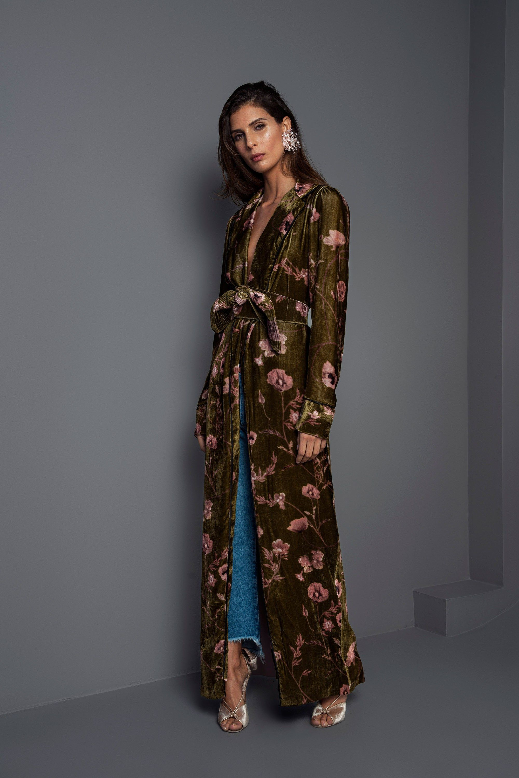 Johanna Ortiz Fall 2017 Ready-to-Wear Fashion Show | Kimonos ...