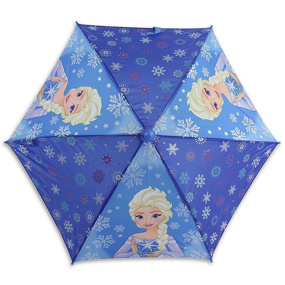 Disney Frozen Umbrella In Blue