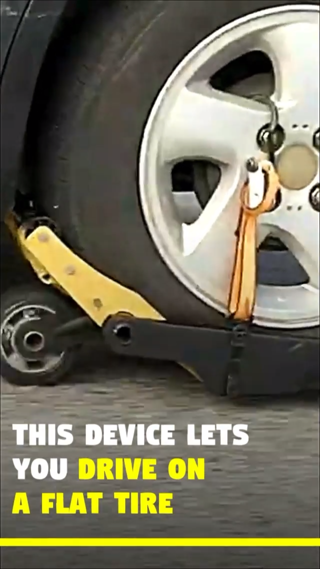 Device That Lets You Drive On a Flat Tire