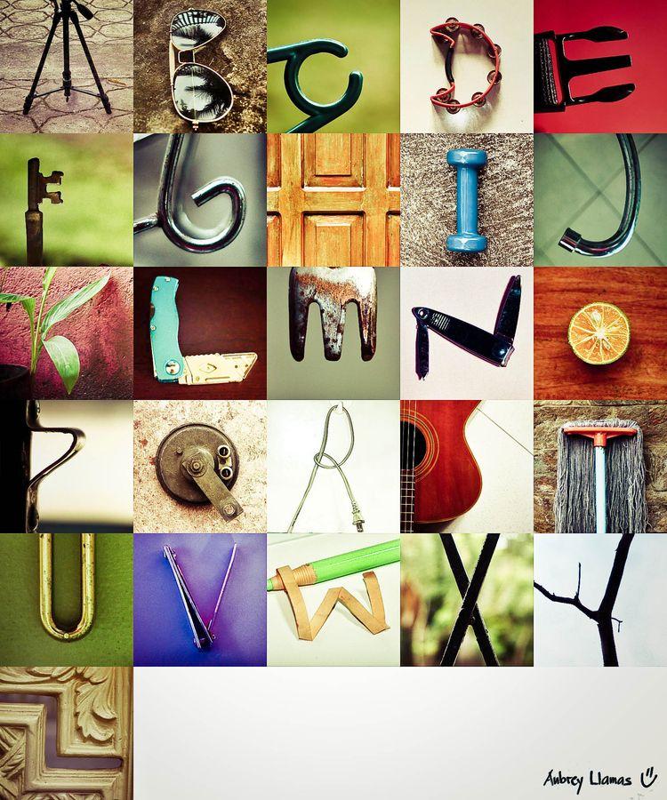 creative alphabet letters - 747×897
