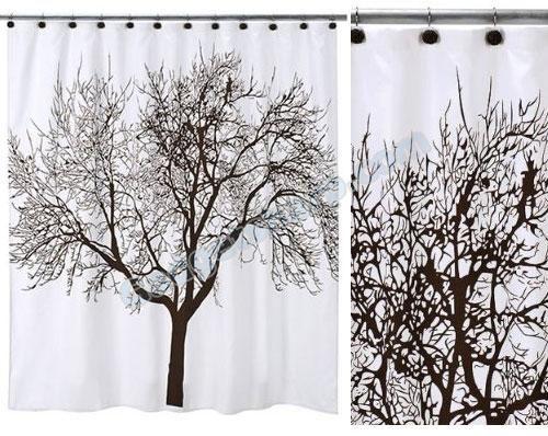 Tree Shower Curtain Set Shower Curtain