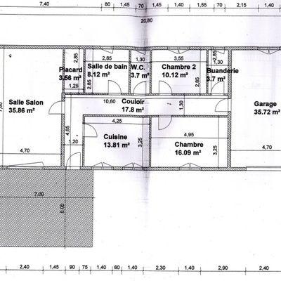 un plan de maison