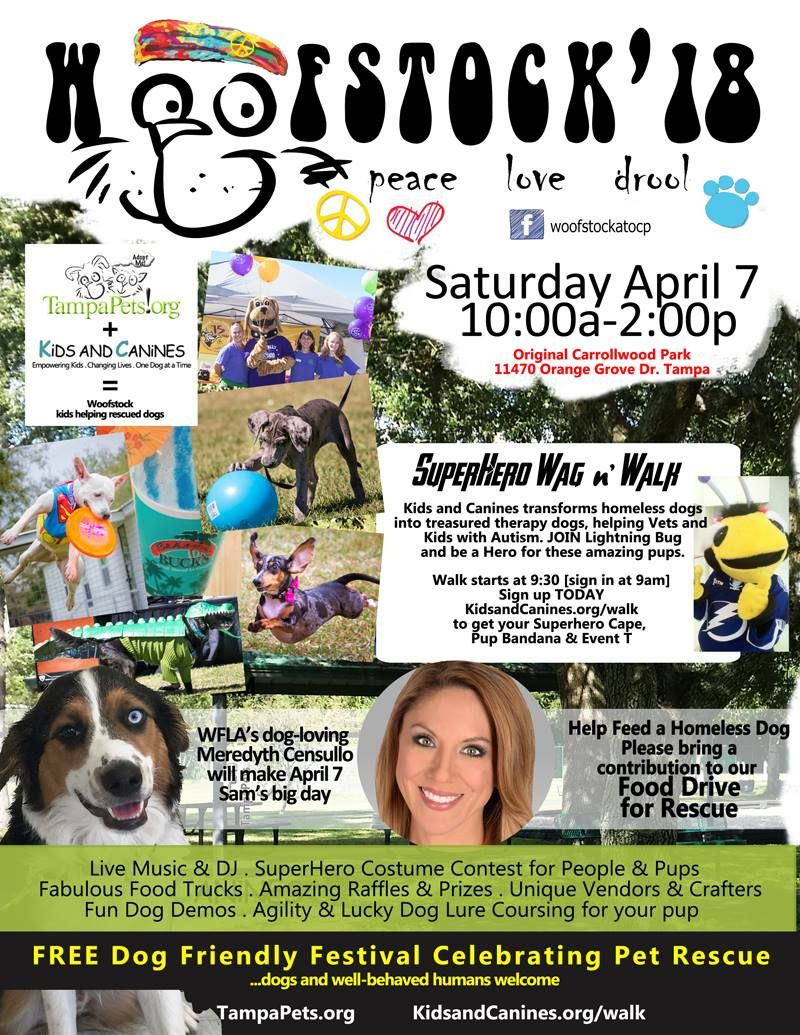 Woofstock '18 is a week from tomorrow! Make sure to sign up