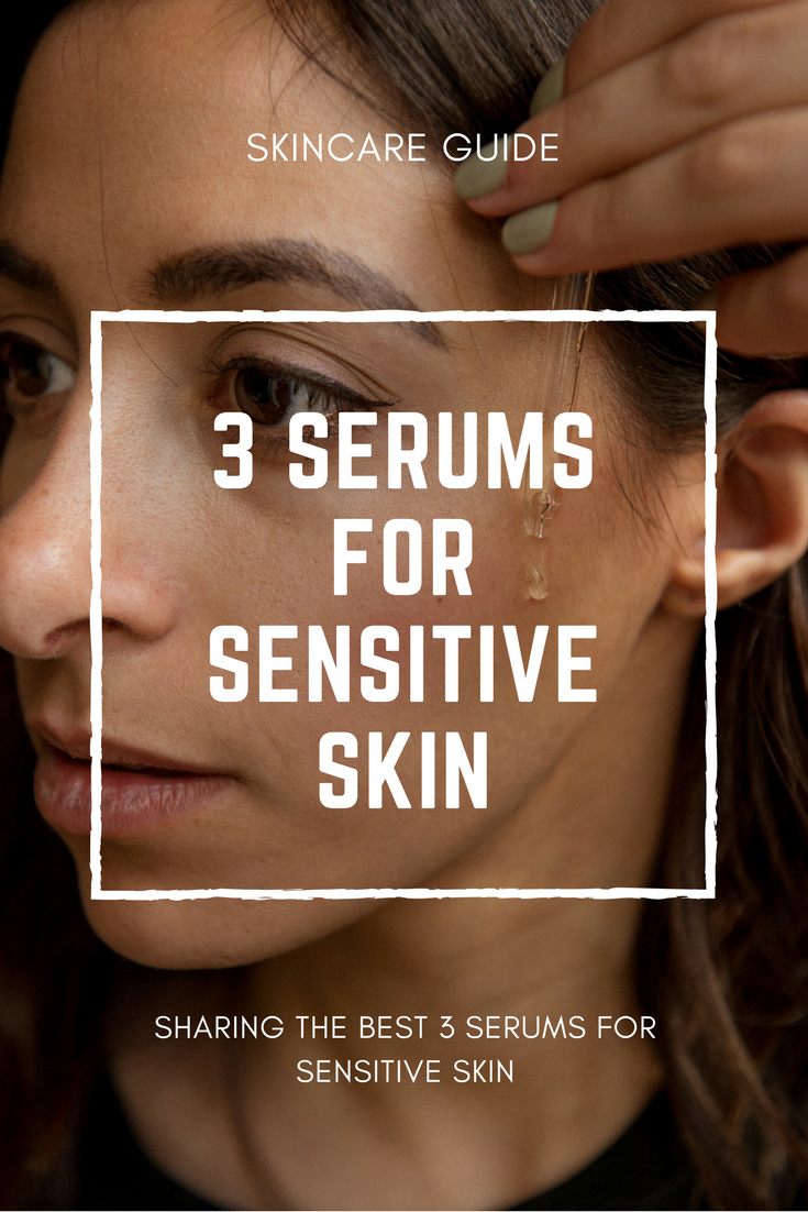 Face serum facial serum serums sensitive skin sensitive skincare