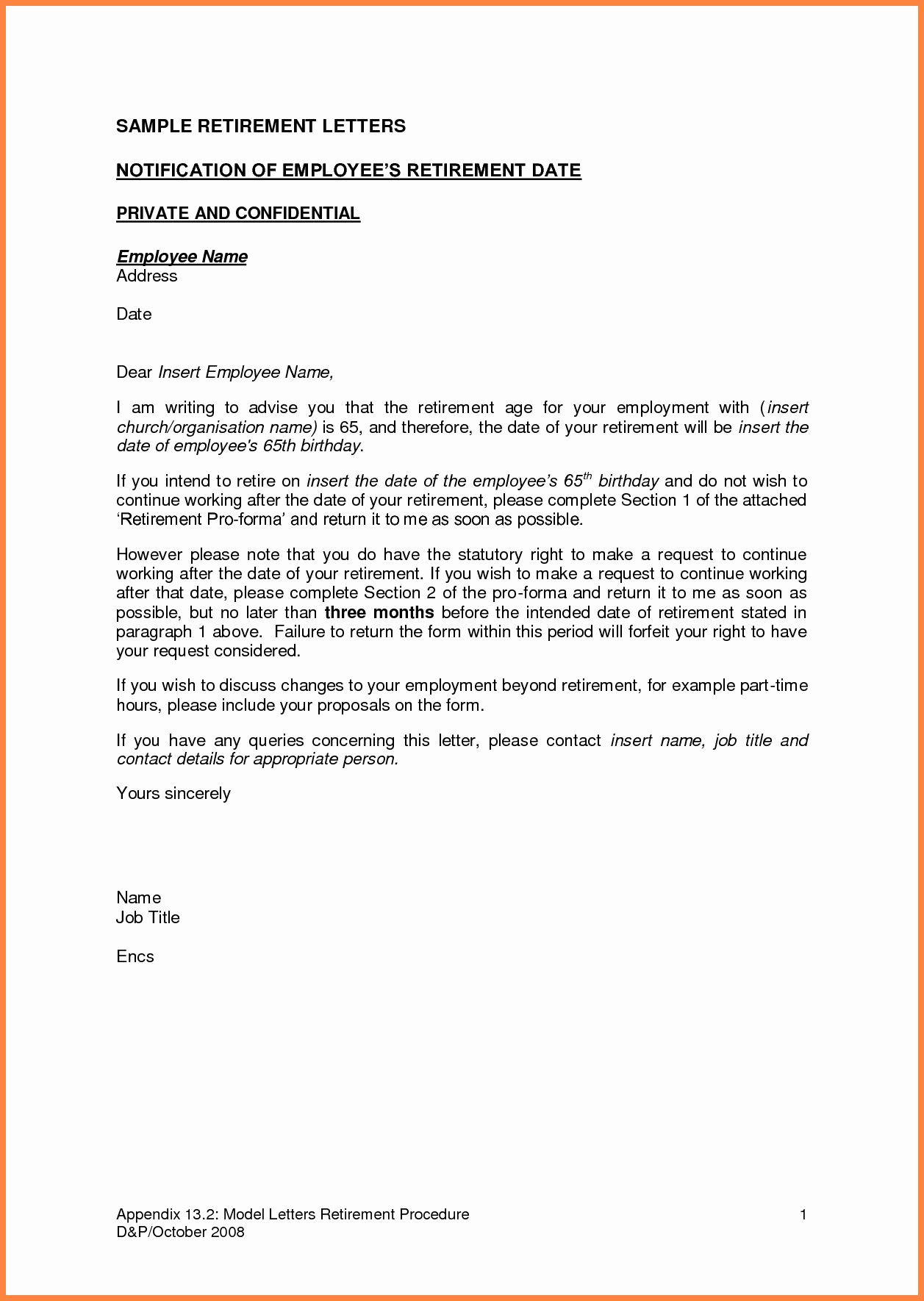 Retirement Letter From Employee Beautiful 5 Employer Notice To Resignation Dissertation Writing Services Employment Statu
