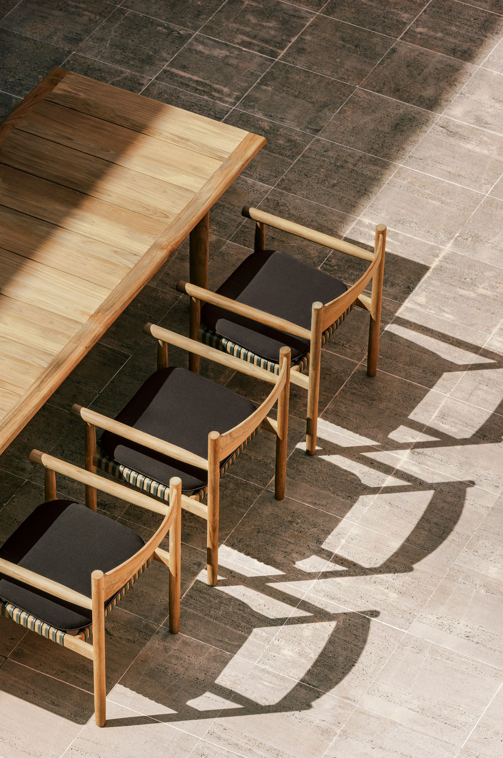 Tibbo by Barber  Osgerby for Dedon  FFE in 2019  Teak