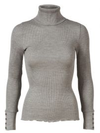 Rosemunde silk turtleneck