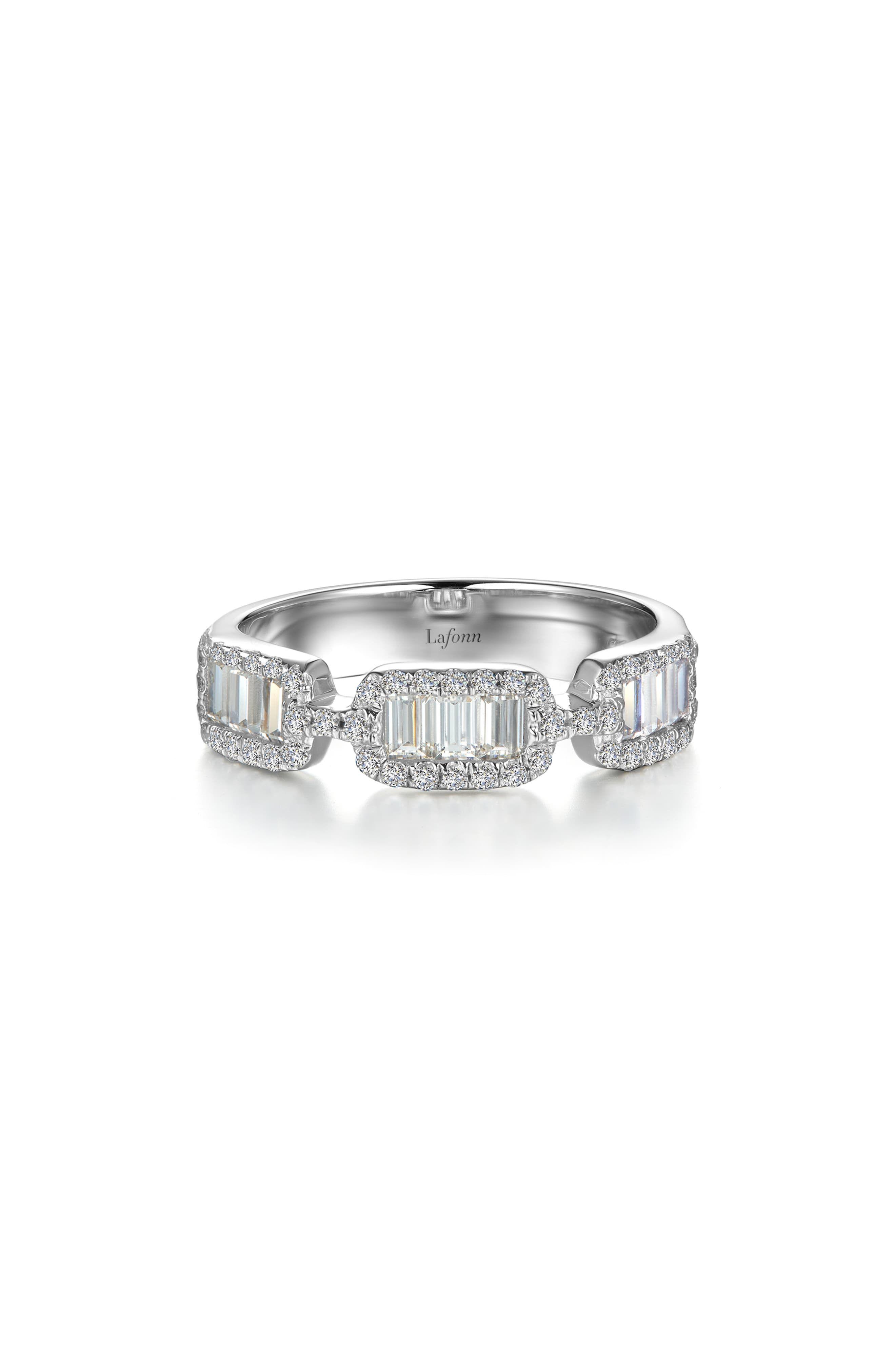 Women's Lafonn HalfEternity Baguette Ring Baguette ring