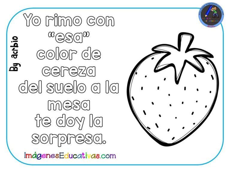 Adivinanzas De Frutas Para Colorear 10 Frutas Para Colorear Adivinanzas Hojas De Trabajo Preescolar