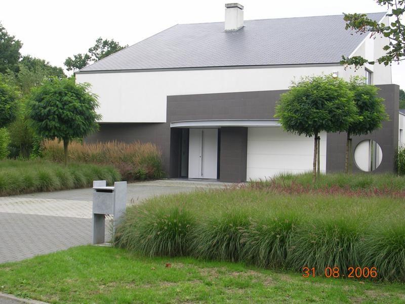 Voortuin nowoczesny ogr d pinterest gardens for Voortuin strak modern