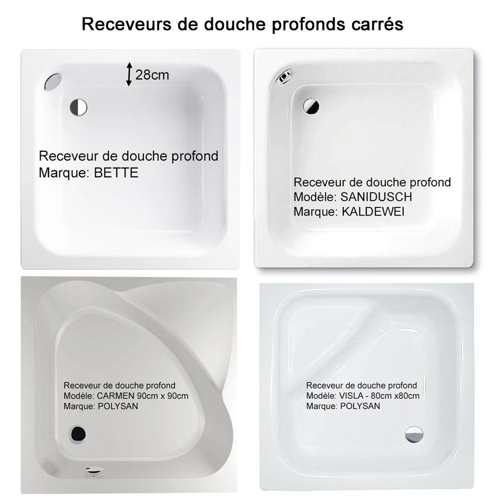 Receveur De Douche Profond Receveur De Douche Bords Hauts