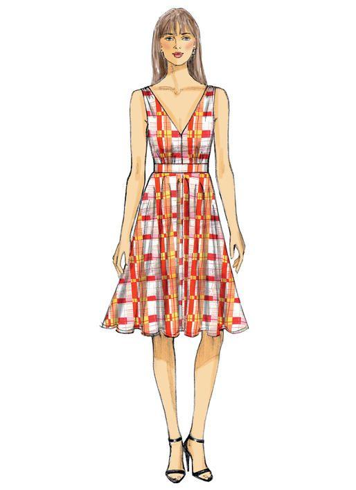 V9053   DIY: I Can Make That!   Pinterest   Vogue patterns, Dress ...