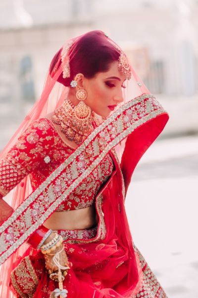Intimate Ludhiana Wedding With Pin-Worthy Bridal Portraits