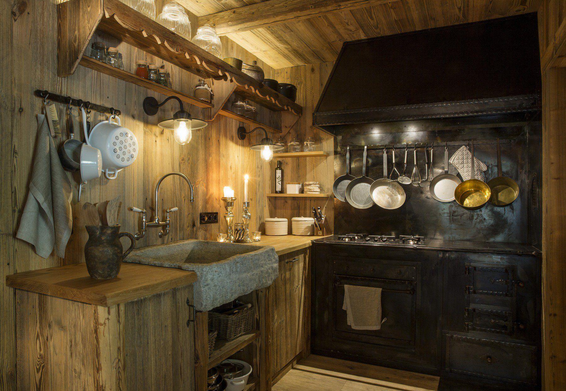 Jagdhaus, Tirol home INTERIOR Küchendesign, Landhaus