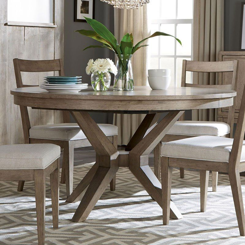 Bridgewater Round Dining Table Round Dining Room Table Rustic
