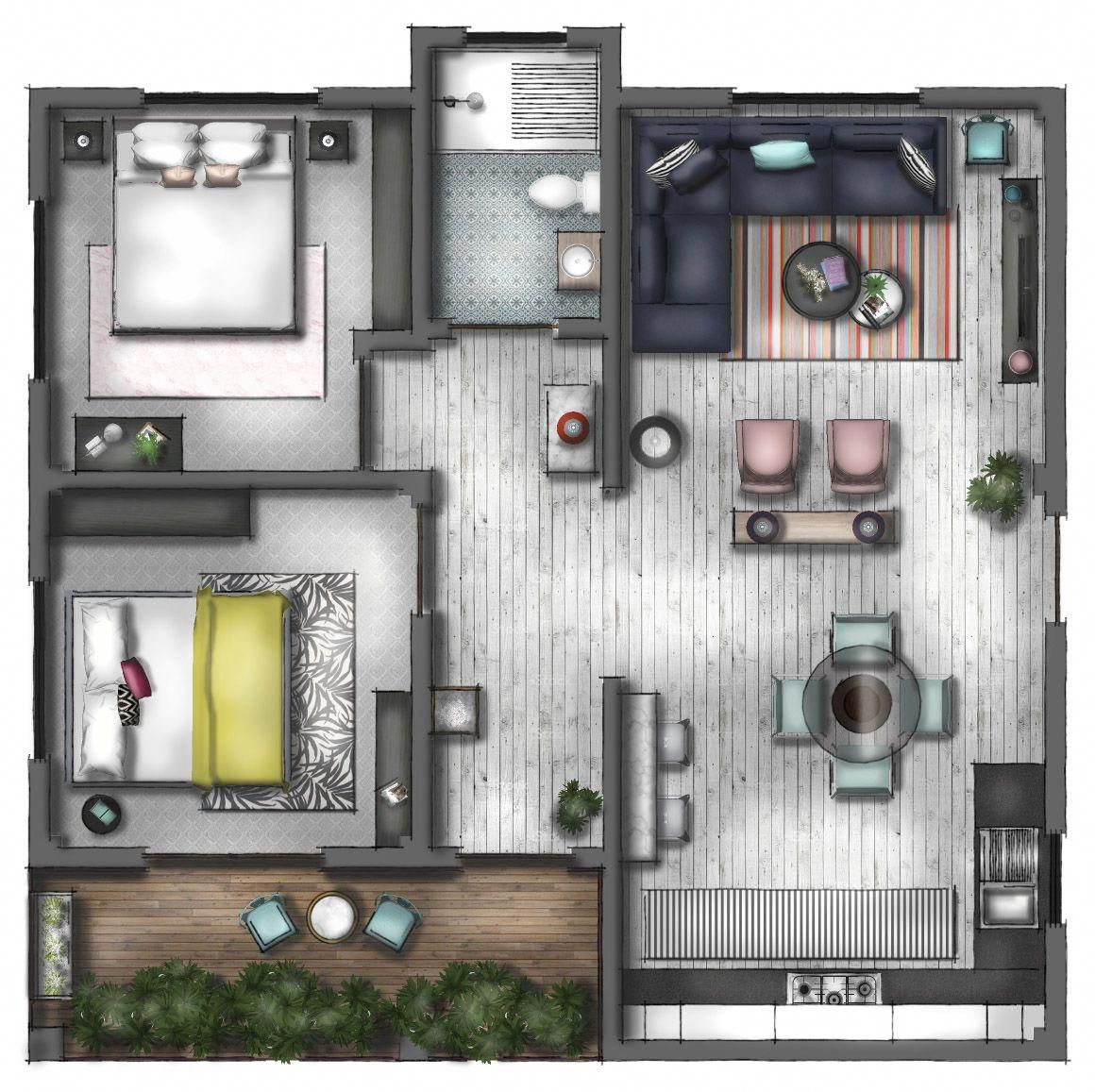 how to draw floor plans in photoshop