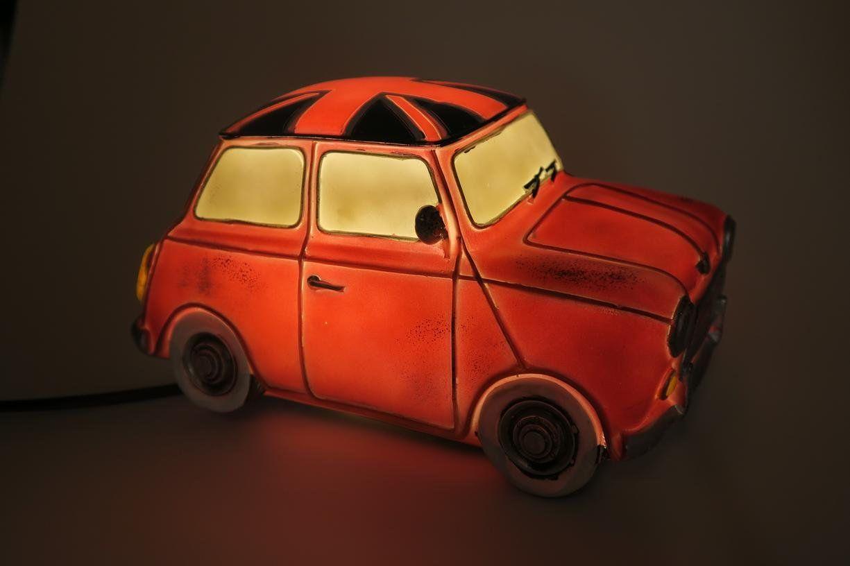 Lamp In De Stijl Van Een Rode Mini Cooper Auto Te Gebruiken Als Tafellamp Nachtlamp Staande Lamp Slechts 29 95 Mini Cooper Tafellamp Mini