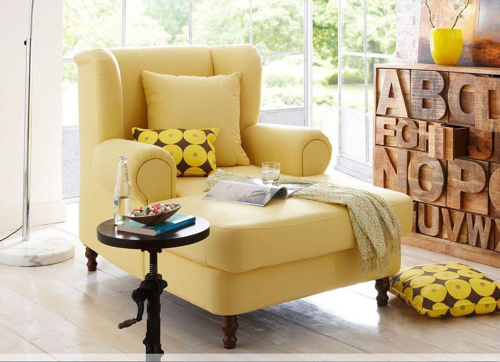 ohrensessel ikea gelb. Black Bedroom Furniture Sets. Home Design Ideas