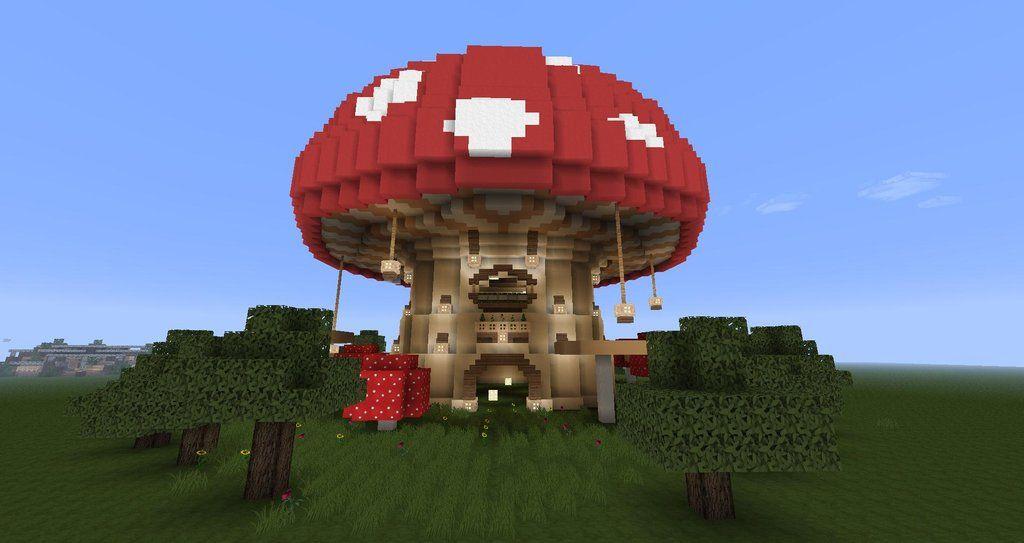 Mushroom Project Minecraft Creations Minecraft Tutorial