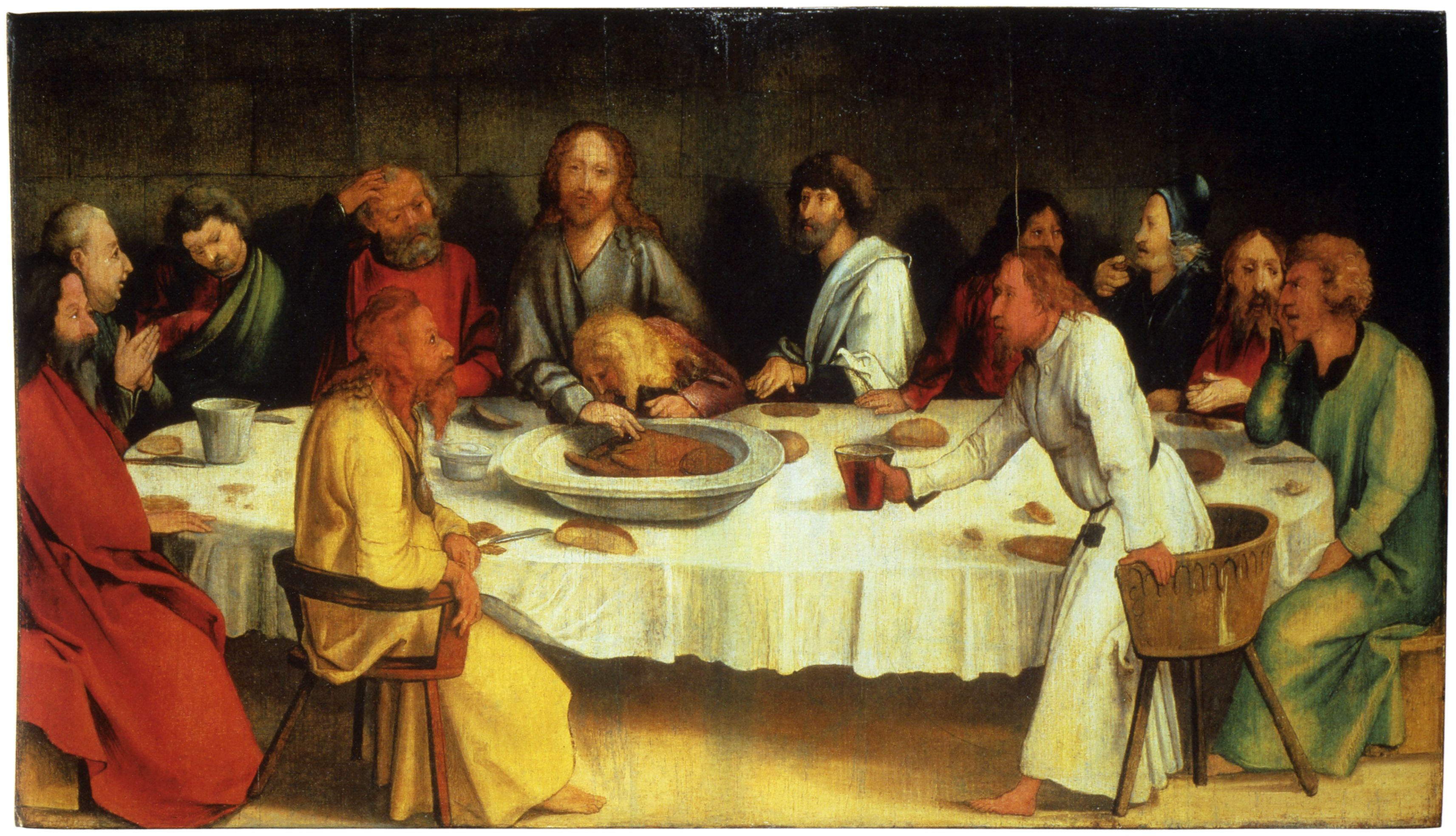 lsst supper images | Last Supper (Coburg Panel) | last supper ...