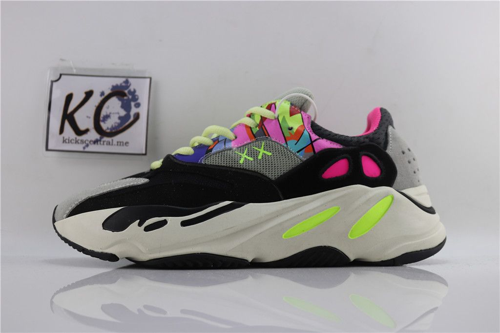 e8fcfd46e87 Kaws x Adidas Yeezy Wave Runner 700