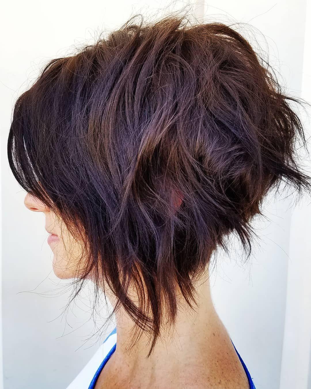 8 trendige chaotisch Bob Frisuren, weibliche Frisur für kurze