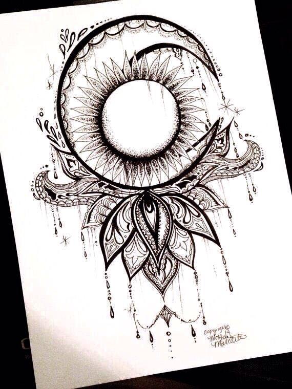 Moon sun   Tattoos   Pinterest   Perfecta para mi, Perfecta y Crear