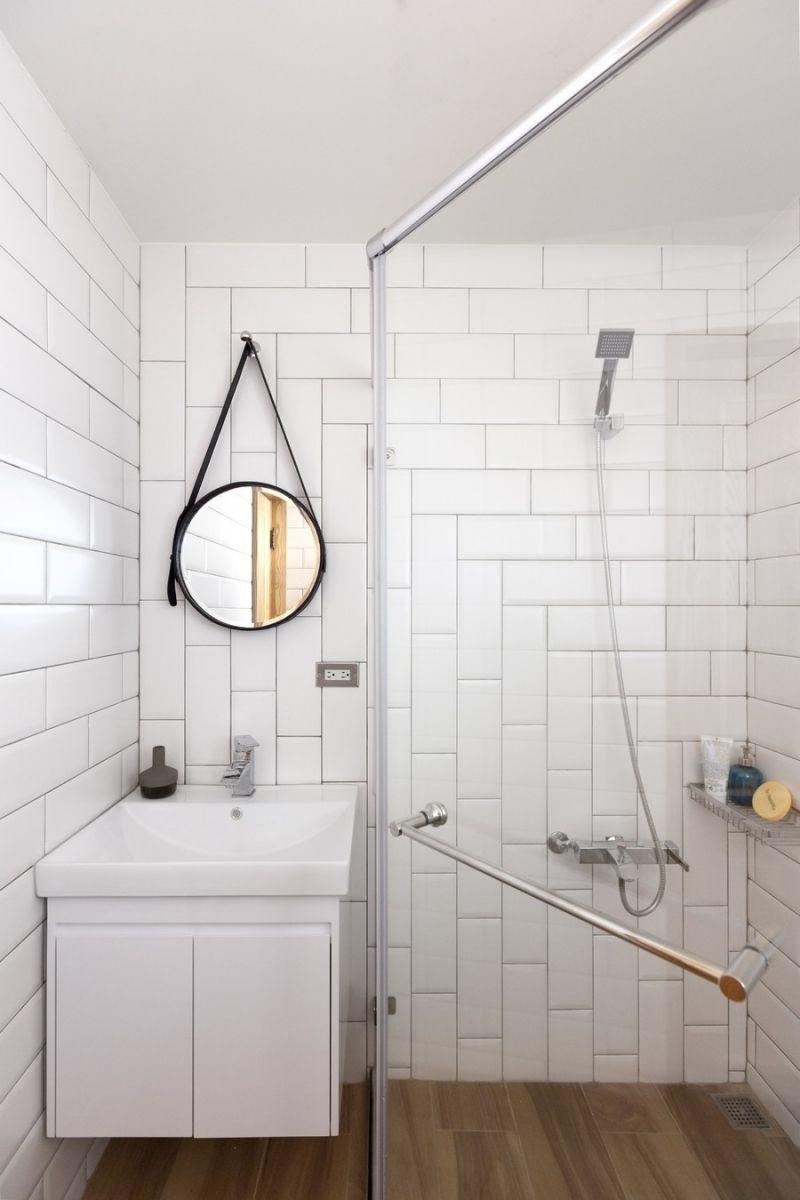 badkamer - metrotegels | badkamer | pinterest, Badkamer