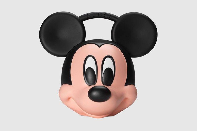 Gucci がミッキーマウスの顔をそのままバッグにした強烈な