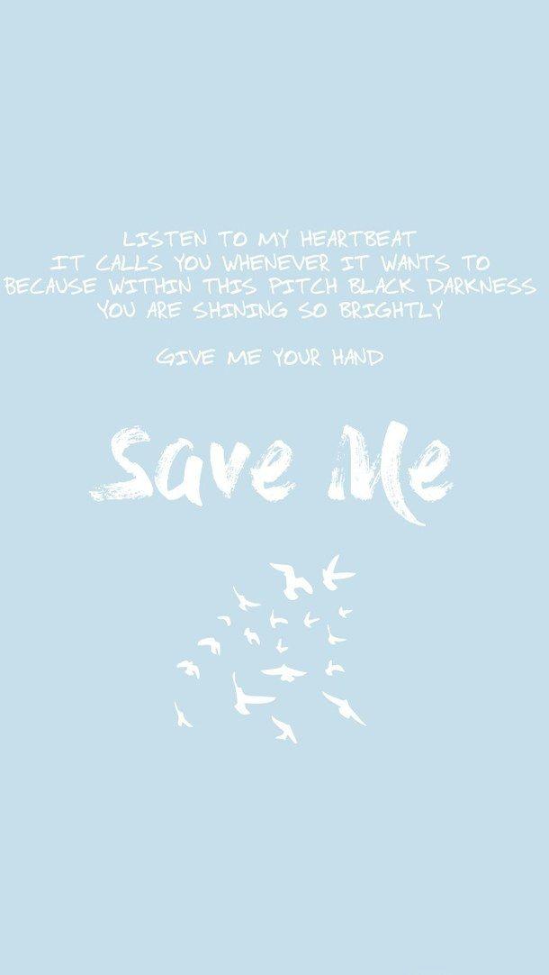 Bts Save Me Bts Lyrics Quotes Bts Quotes Bts Lyric Bts save me wallpapers