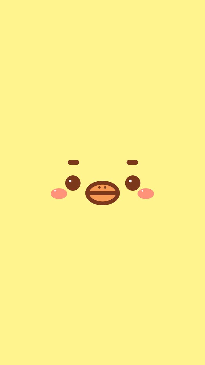 Yellow Ducky Wallpaper