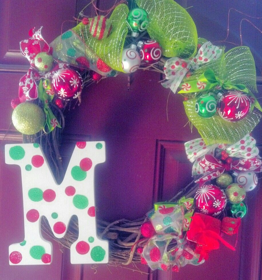 My diy christmas wreath navidad pinterest for Decoracion navidena artesanal