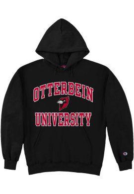 Otterbein Cardinals Hooded Sweatshirt Otterbein University Hooded Sweatshirts Sweatshirts Fleece Hooded Sweatshirt