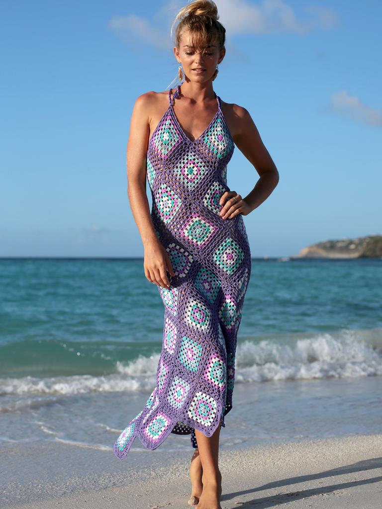 Sexy Granny Crochet Dress #crochetdress