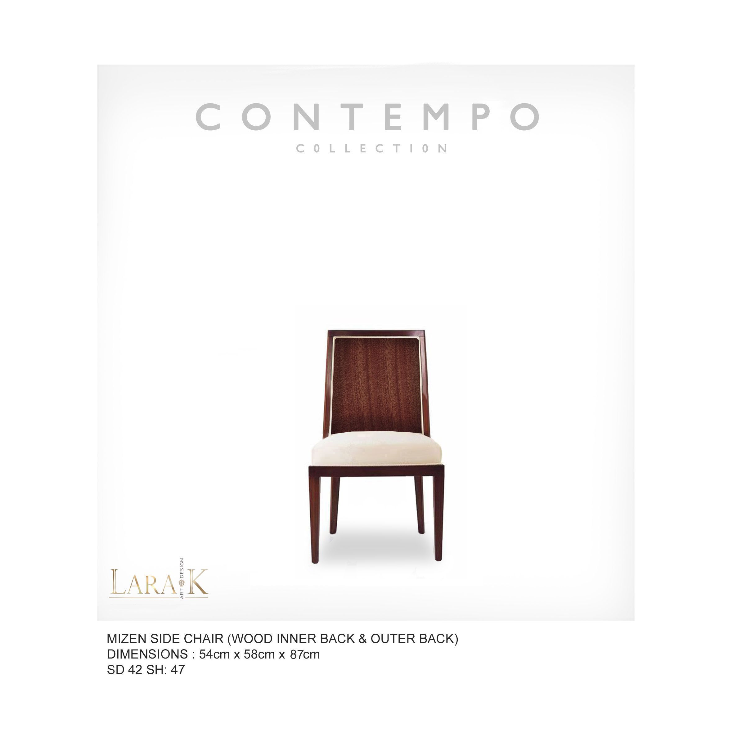 Dr Mizen Dining Side Chair Wb The Contempo Collection Was Created