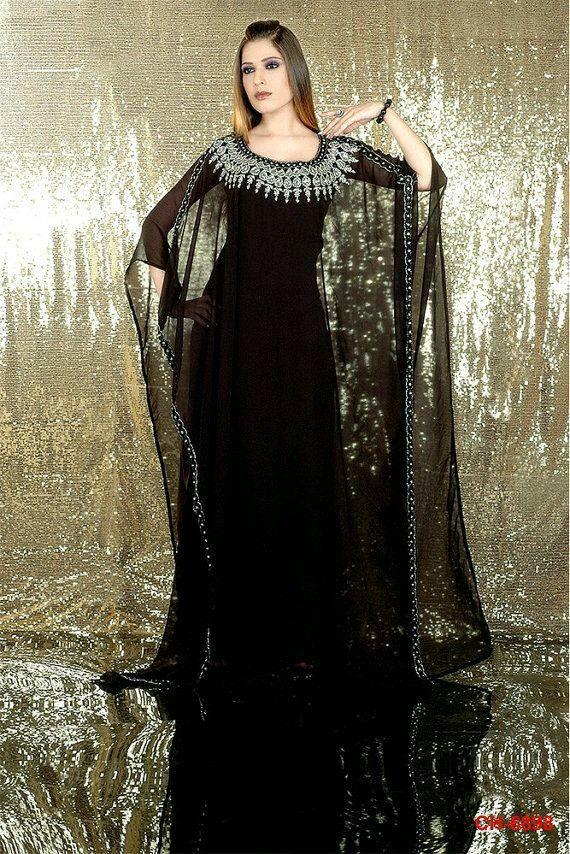 Abaya dubai | Kaftan dress, Maxi dress wedding, Fashion