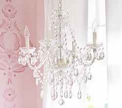 Kids' Chandelier Lighting & Bedroom Chandeliers  Pottery Barn Endearing Bedroom Chandeliers Decorating Design