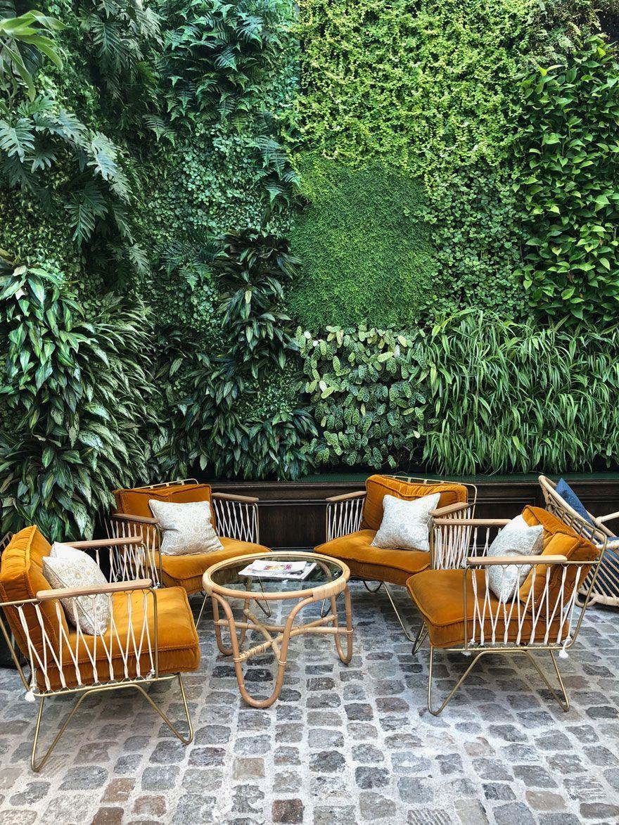 Décorer Un Mur De Jardin terrasse : inspirations pour décorer les murs extérieurs