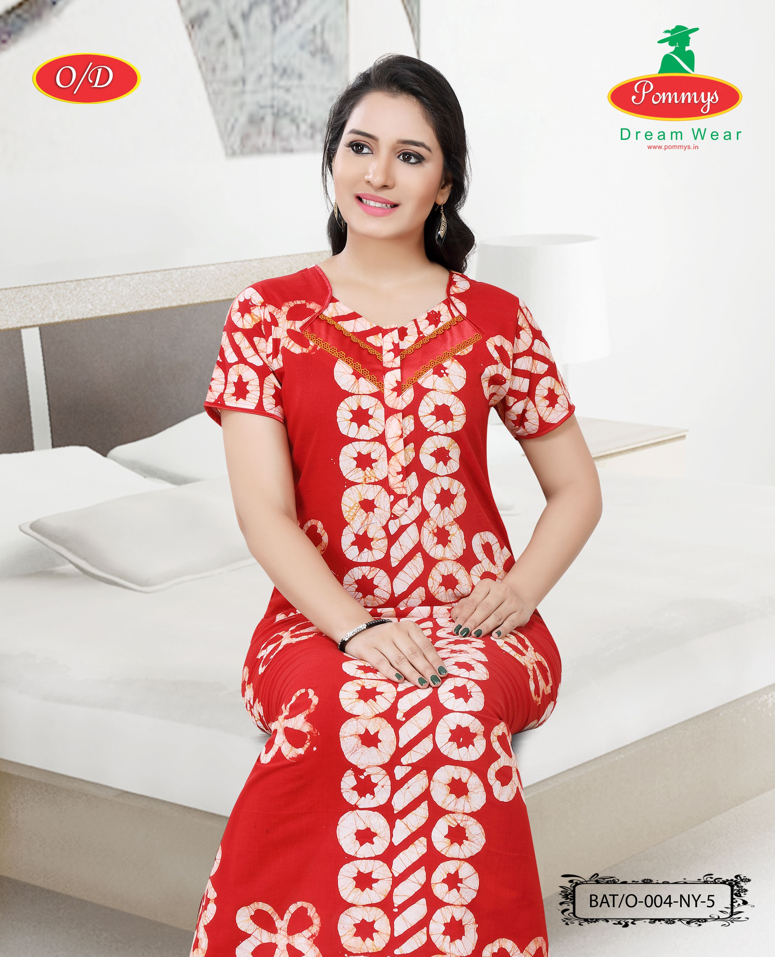 Red Nighty Indian Gown Women/'s Soft Cotton NightyNightwearNight DressSleepwear  Cotton Nighty For Women Fabric Craft For Girls