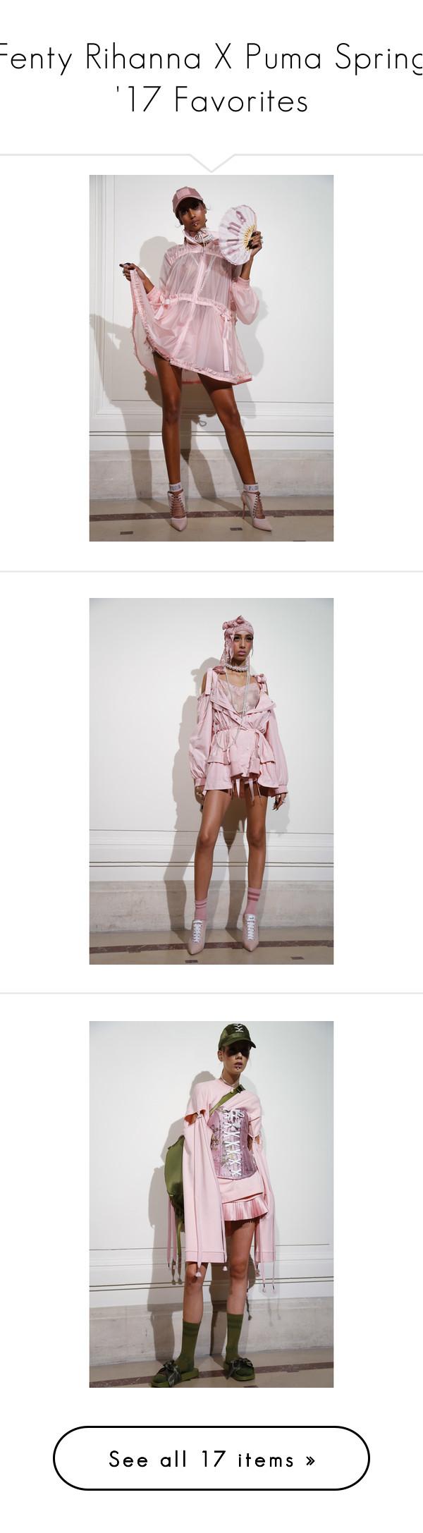 """Fenty Rihanna X Puma Spring '17 Favorites"" by amberelb ❤ liked on Polyvore"