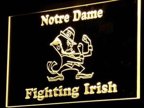 Notre Dame Fighting Irish LED Neon Sign