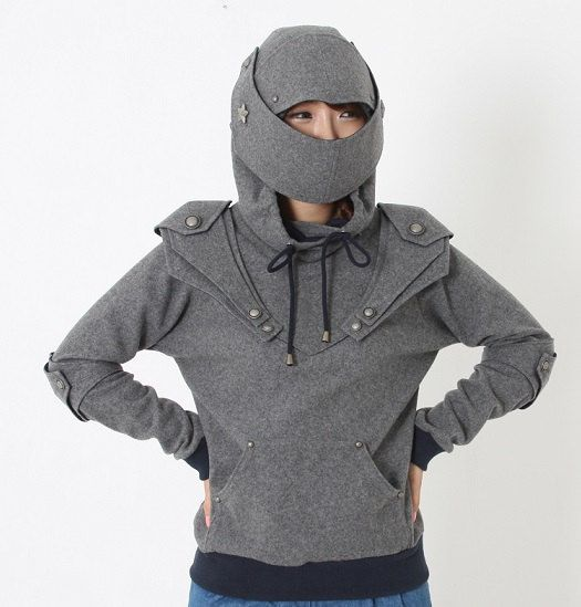 31fb0e14 Lucifer Armored Knight Medieval Armor Pullover Hoodie(100% Handmade Wool)  Made To Order